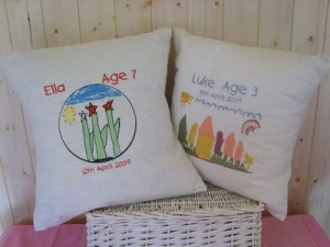 Custom Embroidered Pillows from Extra Special Touch