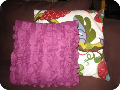 Refashioned Shirt Pillow