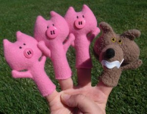 Finger Puppets from Obsessively Stitching