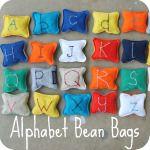 AlphabetBeanBags