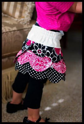 Toddler Petal Skirt