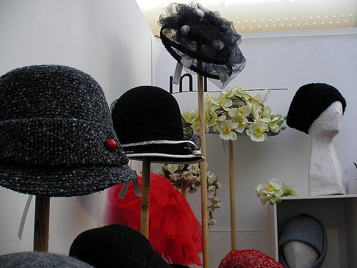 Craft Fair Hat Booth