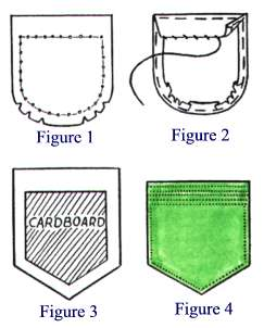 how to make a patch with a sewing machine