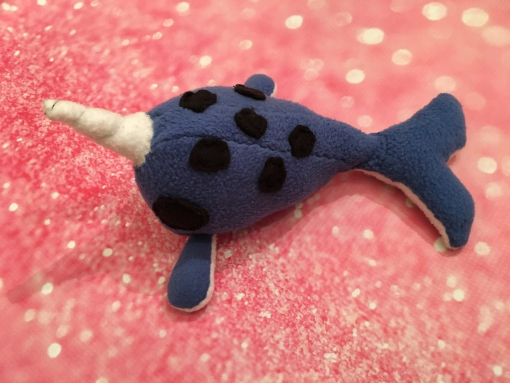 Narwhal stuffed toy